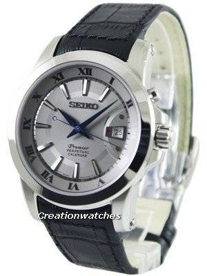 Seiko Premier Perpetual Calendar SNQ143P1 SNQ143P Men's Watch