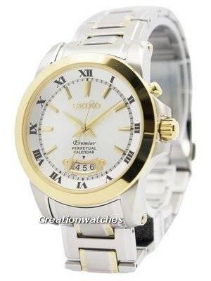 Seiko Premier Perpetual Calender SNQ148 SNQ148P1 SNQ148P Men's Watch