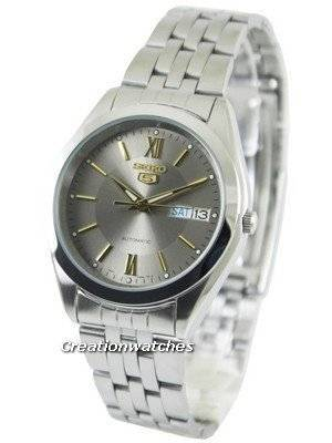 Seiko 5 Automatic Grey Dial SNXA03K1 SNXA03K Men\'s Watch