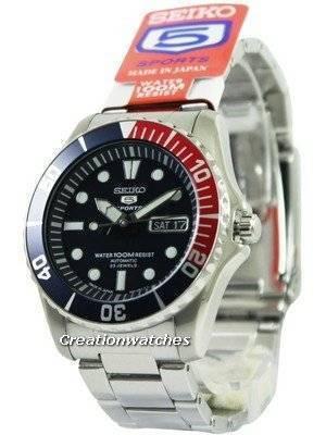 Seiko 5 Sports Diver's Automatic SNZF15J SNZF15 Men's Watch