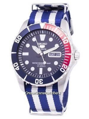 Seiko 5 Sports Automatic Nato Strap SNZF15K1-NATO2 Men's Watch
