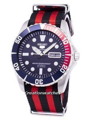 Seiko 5 Sports Automatic Nato Strap SNZF15K1-NATO3 Men's Watch