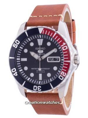 Seiko 5 Sports Blue Dial Automatic SNZF15K1-var-LS21 100M Men\'s Watch