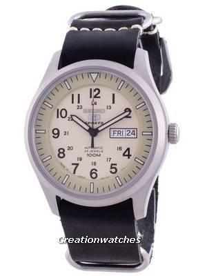 Seiko 5 Sports Military Automatic SNZG07J1-var-LS19 100M Japan Made Men\'s Watch
