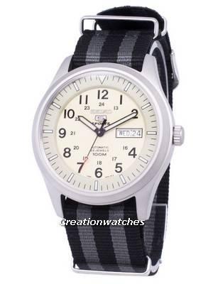 Seiko 5 Sports Automatic Nato Strap SNZG07K1-NATO1 Men's Watch
