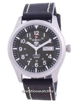 Seiko 5 Sports Military Automatic SNZG09K1-var-LS16 100M Men\'s Watch