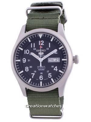 Seiko 5 Sports Blue Dial Automatic SNZG11K1-var-NATO9 100M Men\'s Watch