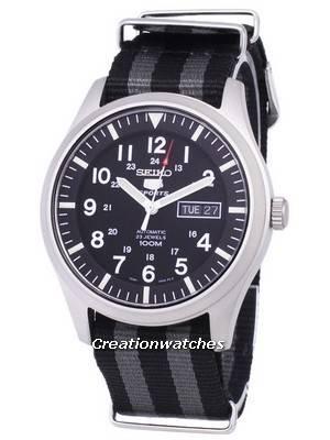 Seiko 5 Sports Automatic Nato Strap SNZG15K1-NATO1 Men's Watch