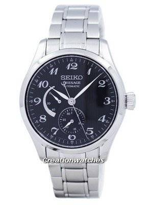 Seiko Presage Automatic Power Reserve Japão fez o relógio dos homens SPB061 SPB061J1 SPB061J