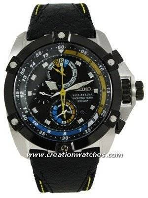 Seiko Velatura Chronograph SPC049P1 SPC049P SPC049 Yacht Timer Men's Watch