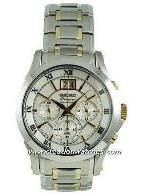 Seiko Premier Chronograph SPC058P1 SPC058P SPC058 Watch