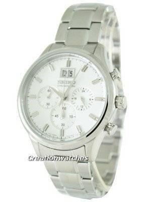 Seiko Neo Classic Chronograph SPC079 SPC079P1 SPC079P Men\'s Watch
