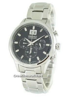 Seiko Neo Classic Chronograph SPC081 SPC081P1 SPC081P Men's Watch