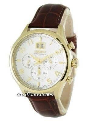 Seiko Neo Classic Chronograph SPC088 SPC088P1 SPC088P Men's Watch