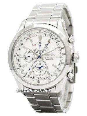 Seiko Chronograph Perpetual SPC123 SPC123P1 SPC123P Men's Watch