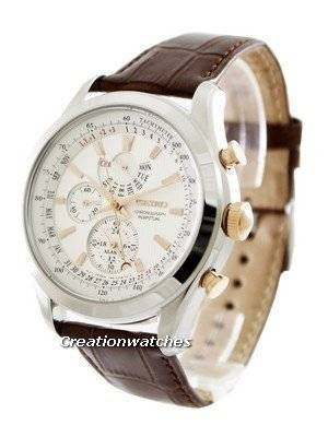 Seiko Chronograph Perpetual SPC129 SPC129P1 SPC129P Men's Watch