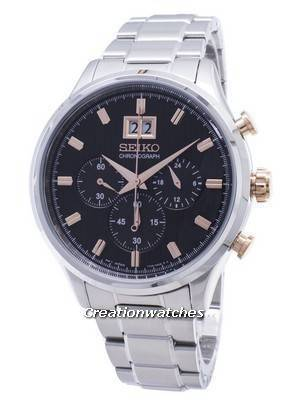 Seiko Chronograph SPC151 SPC151P1 SPC151P Men\'s Watch