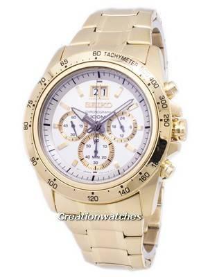 Seiko Lord Chronograph Quartz SPC244 SPC244P1 SPC244P Men's Watch