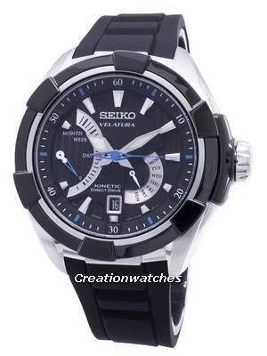 Relé Kinetic Velatura Seiko Velatura SRH019 SRH019P1 SRH019P Relógio Masculino