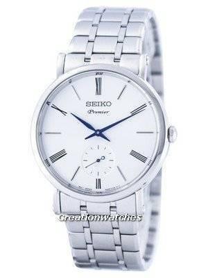 Seiko Premier Pequeno Quartzo de Segunda Mão SRK033 SRK033P1 SRK033P Men Watch
