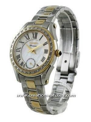 Seiko Premier Ladies Diamond SRKZ86P1 SRKZ86P SRKZ86  Watch