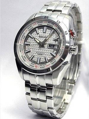 Seiko Automatic World Timer SRP033K1 SRP033K SRP033 Superior Watch