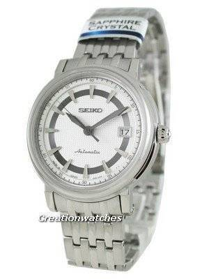 Seiko Automatic Hand Winding Sapphire Japan Made Presage SRP111J1 Mens Watch