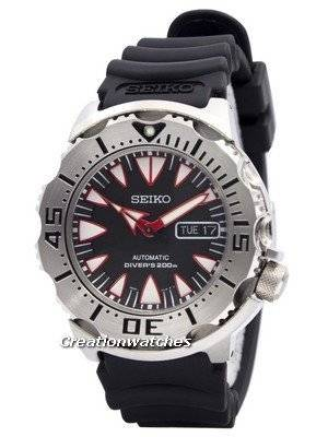 Seiko Monster Automatic Divers SRP313 SRP313K1 SRP313K Men\'s Watch
