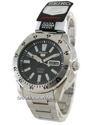 Seiko 5 Sports Automatic 24 Jewels 100M SRP357 SRP357K1 SRP357K Men\'s Watch