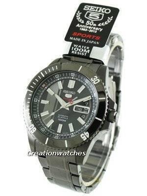 Seiko 5 Sport Automatic 24 Jewels SRP429J1 SRP429J SRP429 Mens Watch