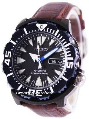 Seiko Prospex Air Diver 200M Ratio Brown Leather SRP581K1-LS3 Men\'s Watch