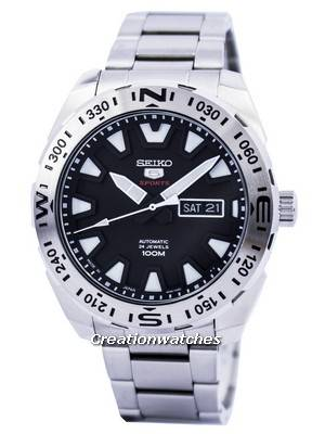 Seiko 5 Sports Automatic 24 Jewels Japan Made SRP739 SRP739J1 SRP739J Men's Watch