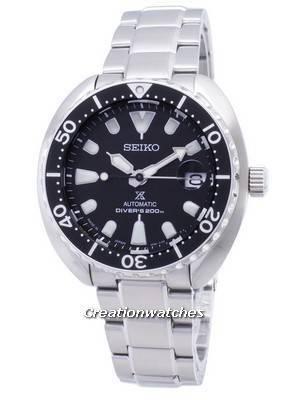 Relógios de Seiko Prospex Mini Turtle SRPC35 SRPC35J1 SRPC35J Automatic Diver 200M Masculina