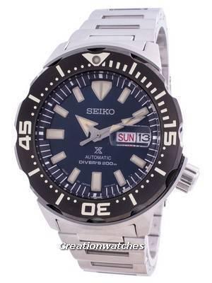 Seiko Prospex Monster Automatic Diver\'s SRPD25 SRPD25J1 SRPD25J 200M Men\'s Watch