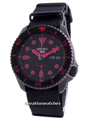 Seiko 5 Sports Street Style Automatic SRPD83 SRPD83K1 SRPD83K 100M Men\'s Watch