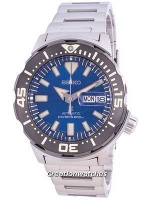 Seiko Prospex Automatic Diver\'s Monster Save The Ocean SRPE09 SRPE09J1 SRPE09J Japan Made 200M Men\'s Watch