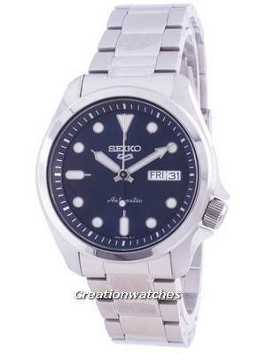 Seiko 5 Sports Blue Dial Automatic SRPE53 SRPE53K1 SRPE53K 100M Men\'s Watch