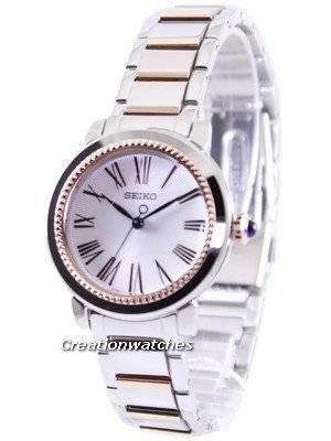 Ρολόι Seiko Quartz Dial Ρωμαϊκή SRZ448 SRZ448P1 SRZ448P των γυναικών 56686856ce1