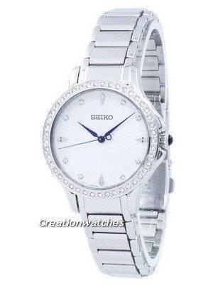 Seiko Classic Quartz Diamond Accent SRZ485 SRZ485P1 SRZ485P Women's Watch