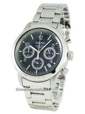 Seiko Chronograph SSB005P1 SSB005 SSB005P Mens Watch