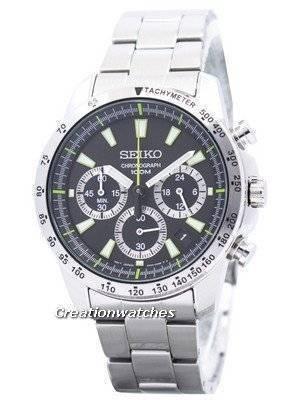 Seiko Classic Chronograph SSB027P1 SSB027P SSB027 Mens Watch