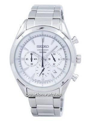 Seiko Chronograph Quartz SSB085 SSB085P1 SSB085P Men's Watch