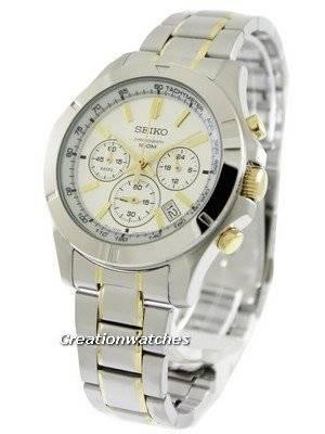 Seiko Chronograph SSB107 SSB107P1 SSB107P Men's Watch