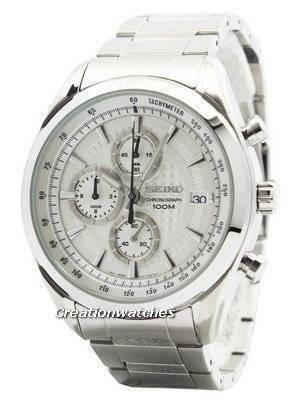 Seiko Quartz Chronograph SSB173 SSB173P1 SSB173P Men's Watch