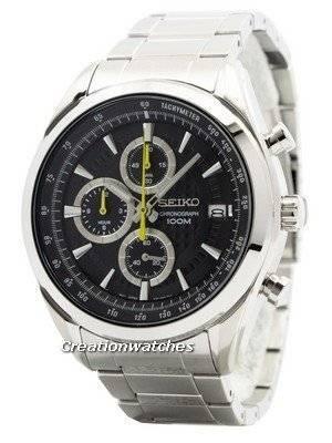 Seiko Quartz Chronograph SSB175 SSB175P1 SSB175P Men's Watch