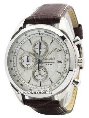 Seiko Quartz Chronograph SSB181 SSB181P1 SSB181P Men\'s Watch