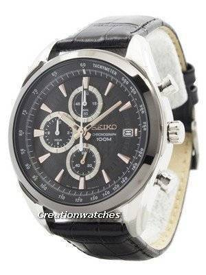 Relógio de quartzo de quartzo de Seiko SSB183 SSB183P1 SSB183P dos homens