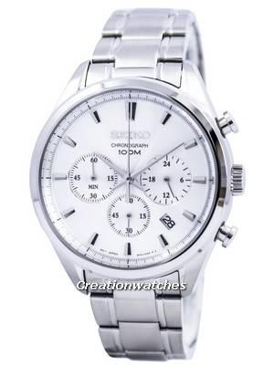 Seiko Quartz Chronograph SSB221 SSB221P1 SSB221P Men's Watch