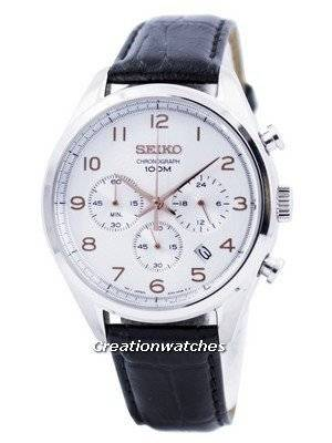 Seiko Quartz Chronograph SSB227 SSB227P1 SSB227P Men\'s Watch