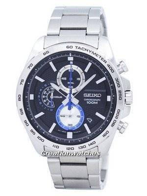 Seiko Chronograph Tachymeter Quartz SSB257 SSB257P1 SSB257P Men's Watch